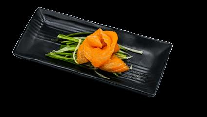 64. Zalm sashimi