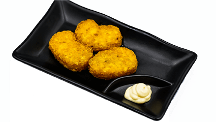 51. Gebakken aardappel koekjes