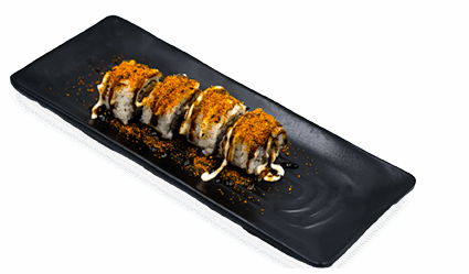 Sushi pittige tonijnrol asian kopiëren
